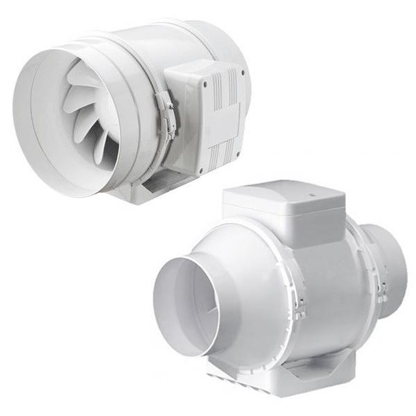 Вентилятор IRE Ostberg канальный в изолированном корпусе